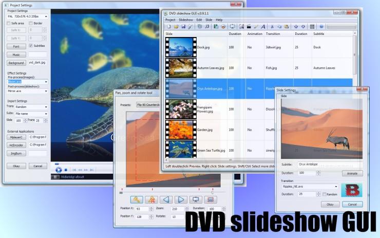 Скачать бесплатно DVD Slideshow GUI 0.9.3.6